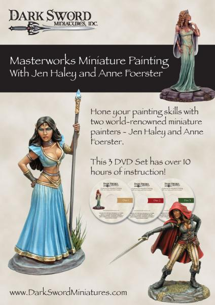 Painting DVDs: Jen Haley & Anne Foerster Masterworks Miniature