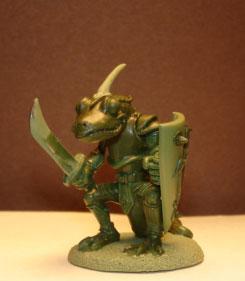 Critter Kingdoms: Newt Warrior