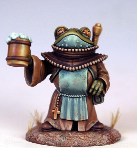 Critter Kingdoms: Friar Tuck The Toad