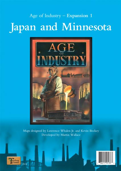 Age of Industry - Expansion # 1: Japan and Minnesota