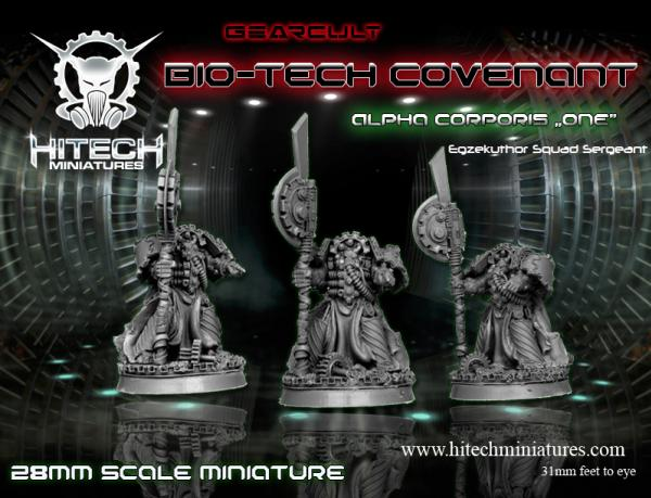 (Bio-Tech Covenant) Alpha Corporis One, Gearcult Egzekuthor Squad Leader/Sergeant