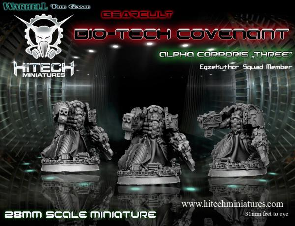 (Bio-Tech Covenant) Alpha Corporis Three, Gearcult Egzekuthor Squad Member