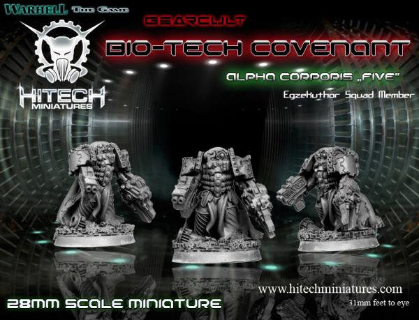 (Bio-Tech Covenant) Alpha Corporis Five, Gearcult Egzekuthor Squad Member
