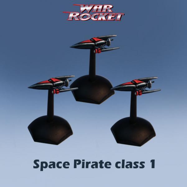 War Rocket - Space Pirate: Class 1 (3)
