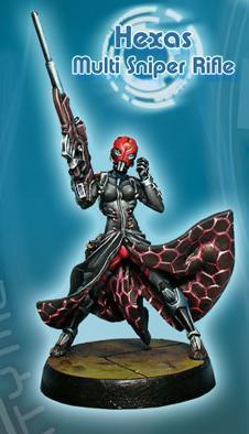 Infinity (#310) PanOceania: Hexas (MULTI Sniper) (1)