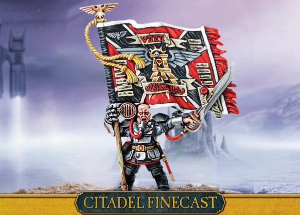Citadel Finecast Resin: Colour Sergeant Kell