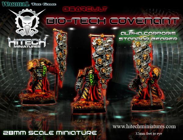 (Bio-Tech Covenant) Alpha Corporis Seven, Gearcult Egzekuthor Squad Member/Standard Bearer