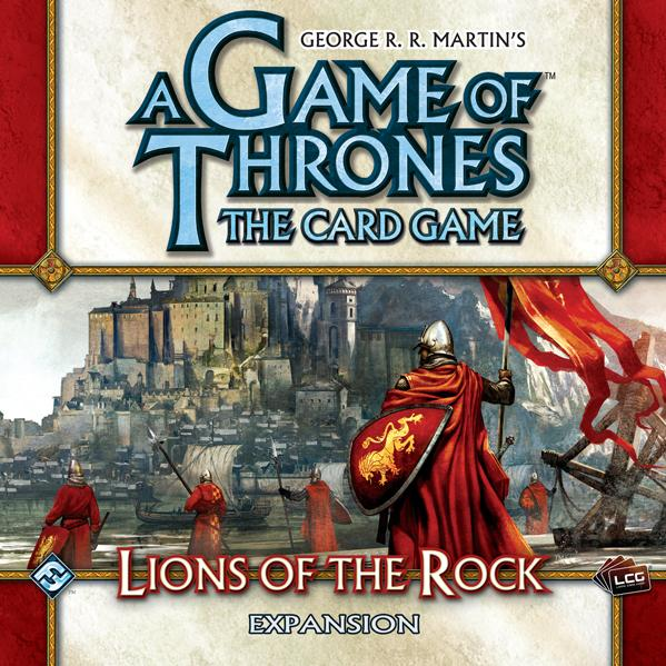 A Game of Thrones LCG: Lions of the Rock Expansion Box Set