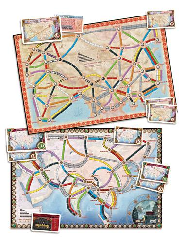 Ticket To Ride: Map Collection V1 - Asia