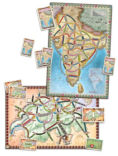 Ticket To Ride: Map Collection V2 - India