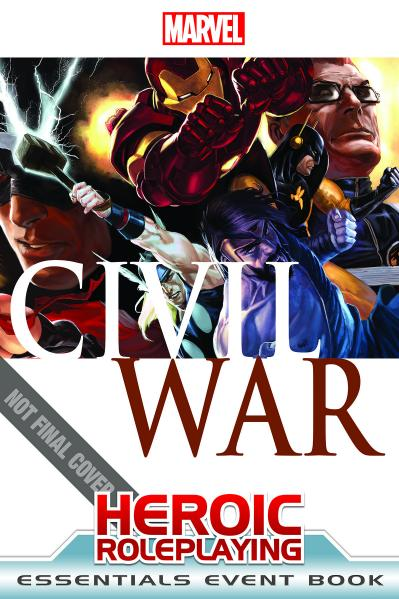Marvel Heroic Roleplaying: Civil War Event Book (Essential Edition)