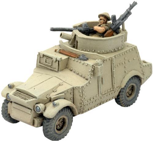 Flames of War: Morris CS9 Armoured Car
