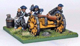 28mm Pike & Shotte: Scots Saker Cannon + Crew