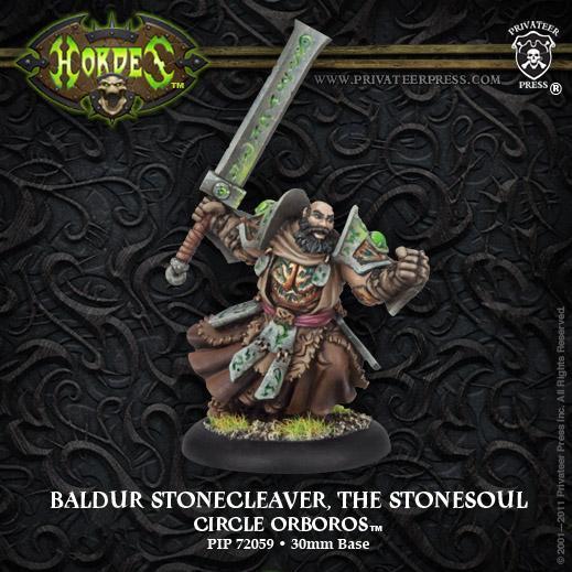 Hordes: (Circle Orboros) Warlock Baldur The Stonesoul