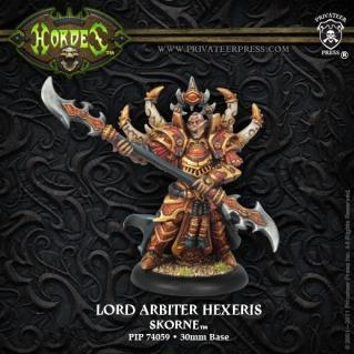 (Skorne) Warlock Lord Arbiter Hexeris