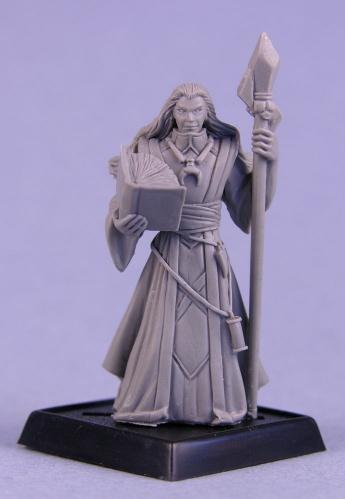 Pathfinder Miniatures: Khalib, Runelord Apprentice