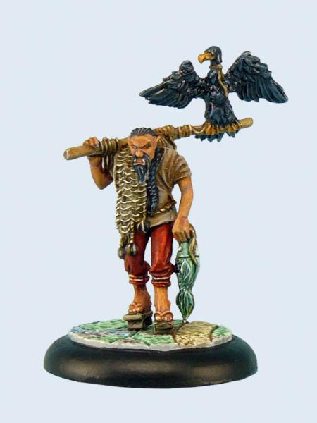 Wolsung Miniatures: Orc Fisherman (1)