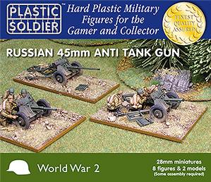 28mm WWII (Soviet): Anti Tank Gun