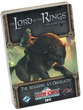 Lord of the Rings LCG: The Massing at Osgiliath Adventure Pack