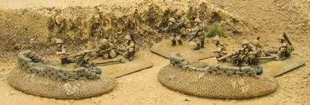 Battlefield in a Box: Desert Sandbags - Dug In Markers