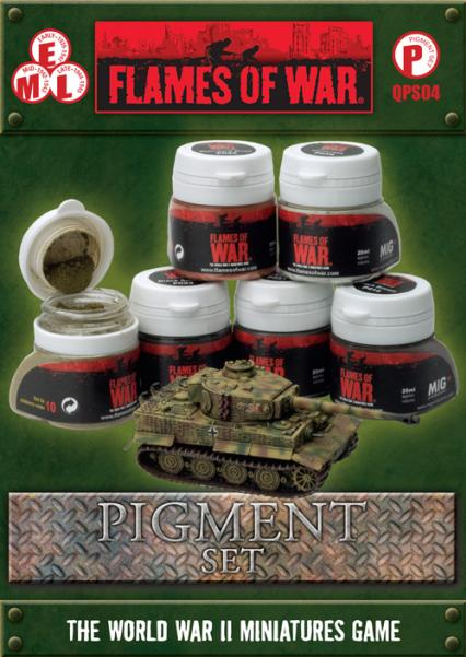 Flames of War: Quartermasters Pigment Set (6)