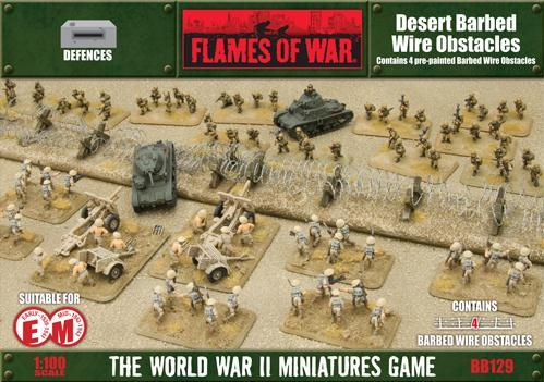 Battlefield in a Box: Desert Barbed Wire Obstacles