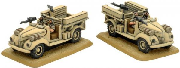 Flames of War: LRDG Ford V8 Car