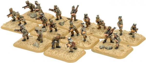 Flames of War: LRDG / SAS Dismounted Patrols