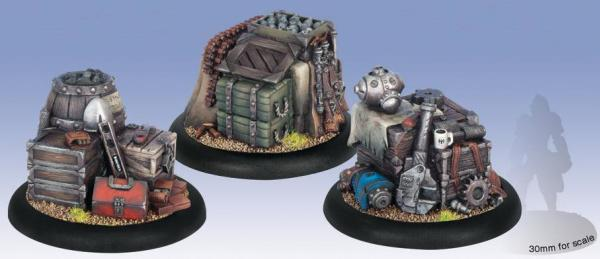 Warmachine Accessories:  Objective Markers