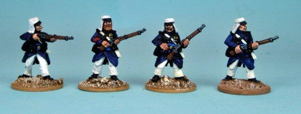 28mm March or Die: Legion in Greatcoats