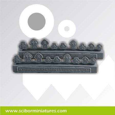 Conversion Parts: Celtic Small Shields (18)