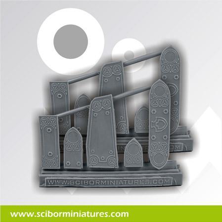 Conversion Parts: Gothic Plates (10)
