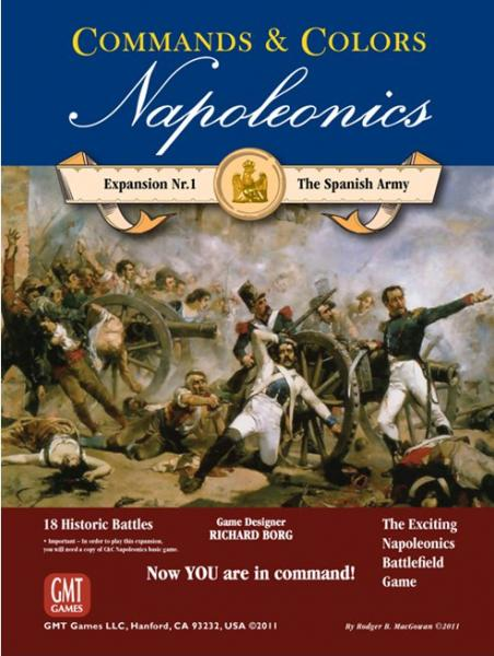 Commands & Colors: Napoleonics Expansion #1: The Spanish Army [OLD EDITION]