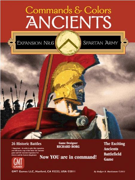 Commands & Colors: Ancients Expansion #6: The Spartan Army