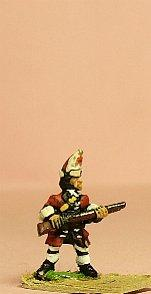 15mm European Armies - Infantry (1695 - 1745): Grenadier with Mitre Cap (Ready) [BRO14]