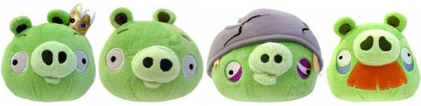 Angry Birds: Assorted 5-inch Plush Pig With Sound
