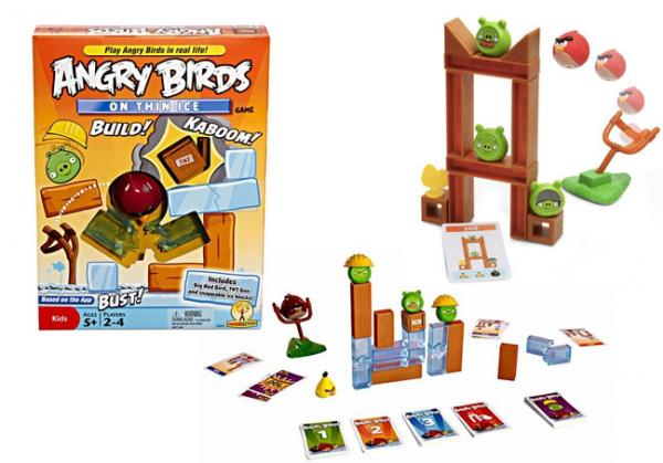 Angry Birds Game: On Thin Ice