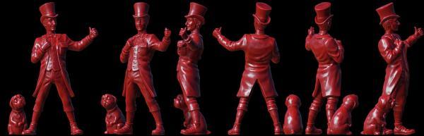 28mm Discworld Miniatures: Moist Making Money (1)