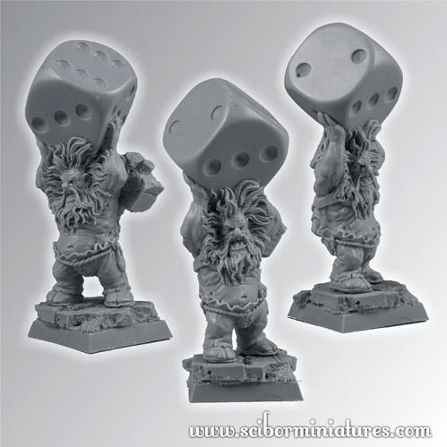 28mm Fantasy Miniatures: Mad Dayn Dwarf