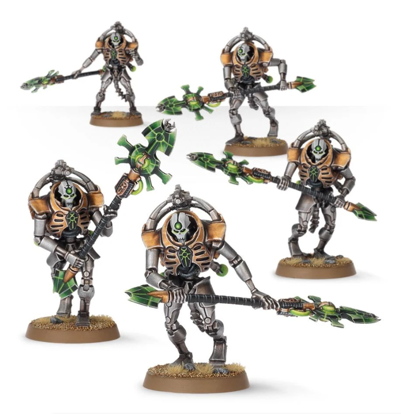 WH40K: Necron Lychguard/Triarch Praetorians