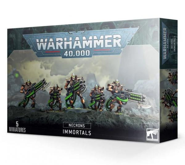WH40K: Necron Immortals