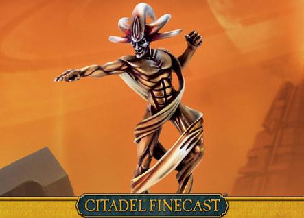 Citadel Finecast Resin: Necron C'tans the Deceiver
