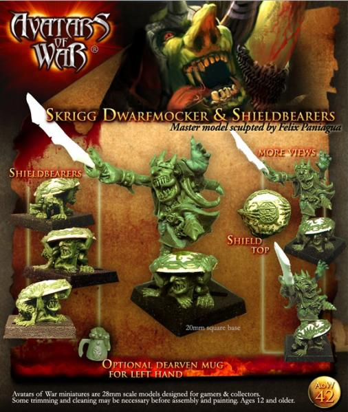 Avatars of War: Goblin King & Grotling Shield Bearers