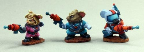 Special Edition Figures: Space Mouslings