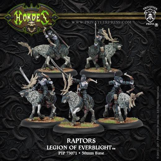 (Legion Of Everblight) Blighted Nyss Raptors Cavalry Unit