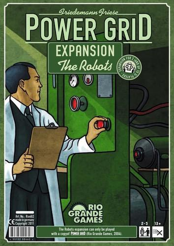 Power Grid Expansion: The Robots