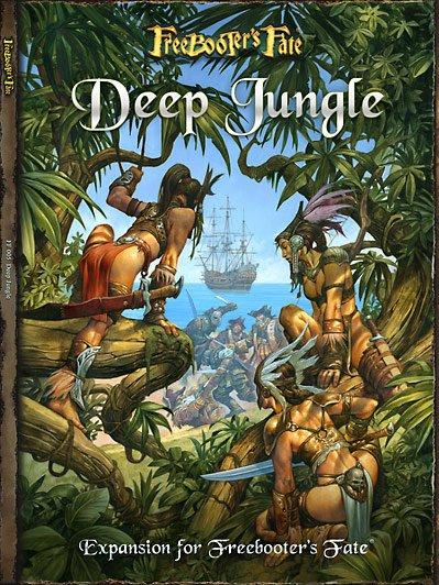 Freebooter's Fate Expansion: Deep Jungle Rulebook