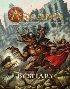 Arcanis RPG: Bestiary Vol.1
