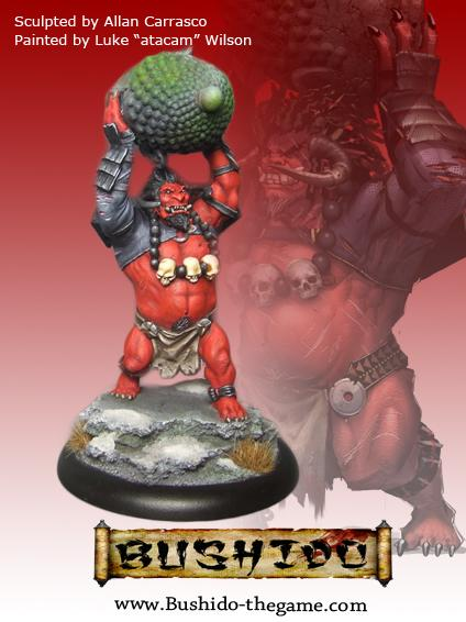 Bushido Miniatures: (Savage Wave) Waka (Oni)