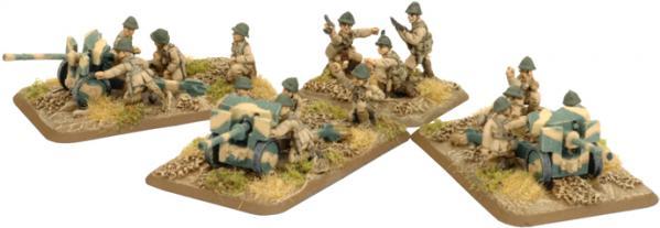 Flames of War - French: 25mm SA-34 Hotchkiss Gun [REVISED]